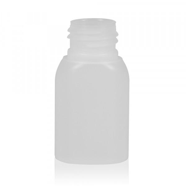 30 ml flacon Basic Oval HDPE naturel 24.410