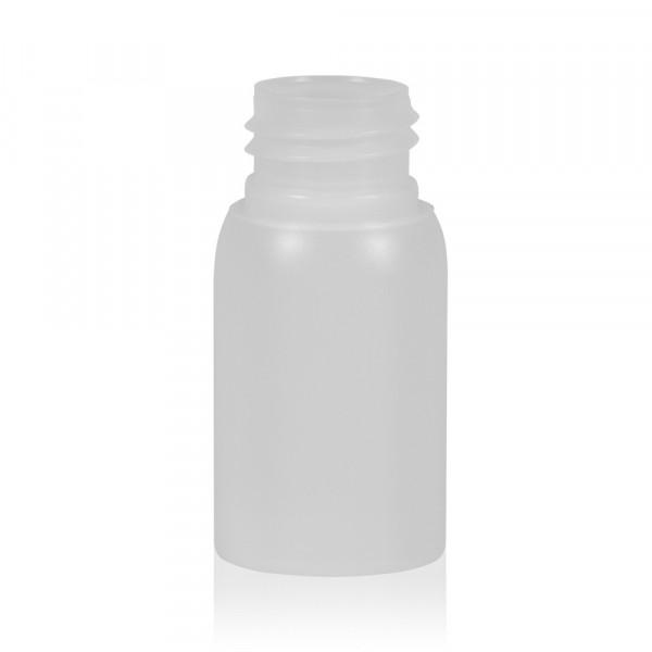 30 ml flacon Basic Round HDPE naturel 24.410