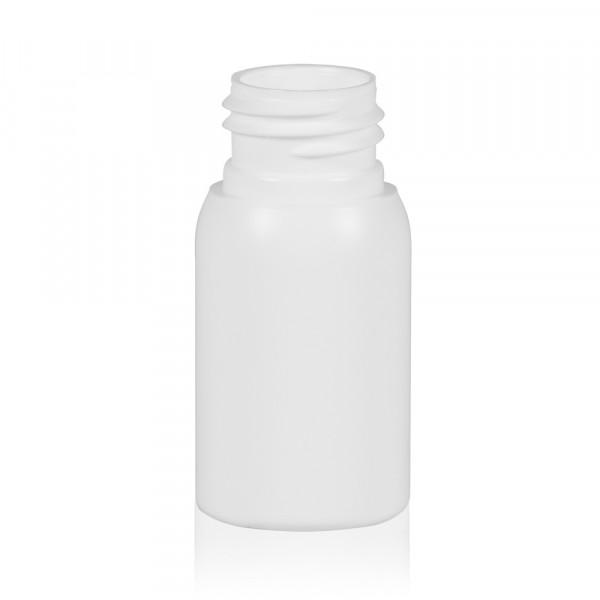 30 ml flacon Basic Round HDPE blanc 24.410