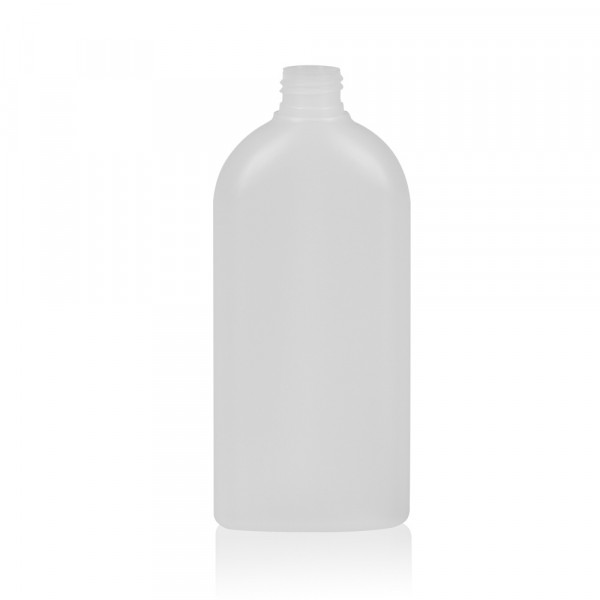 300 ml flacon Basic Oval HDPE naturel 24.410