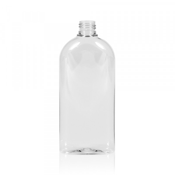 300 ml flacon Basic Oval PET transparent 24.410