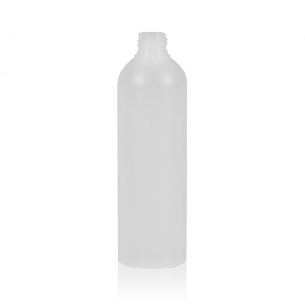300 ml flacon Basic Round HDPE naturel 24.410