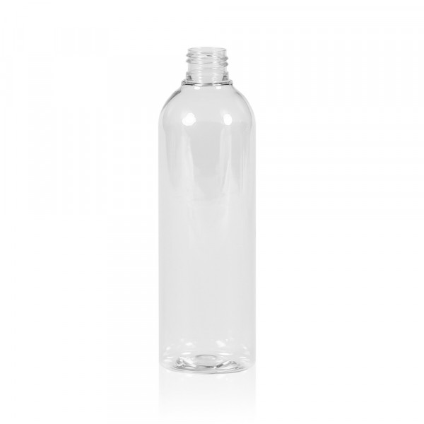 300 ml flacon Basic Round PET transparent 24.410