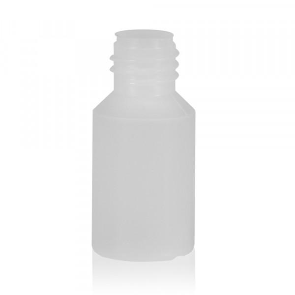 5 ml flacon Mini Round HDPE-LDPE naturel