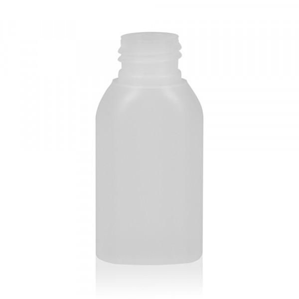 50 ml flacon Basic Oval HDPE naturel 24.410
