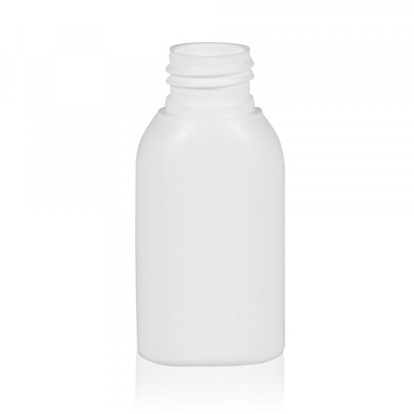50 ml flacon Basic Oval HDPE blanc 24.410