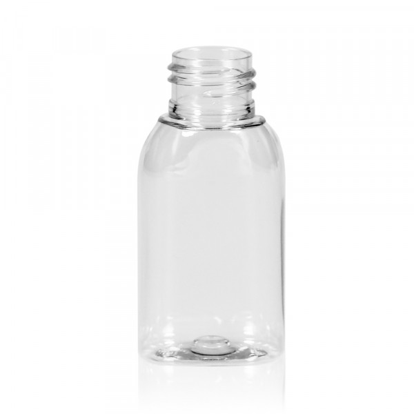 50 ml flacon Basic Oval PET transparent 24.410