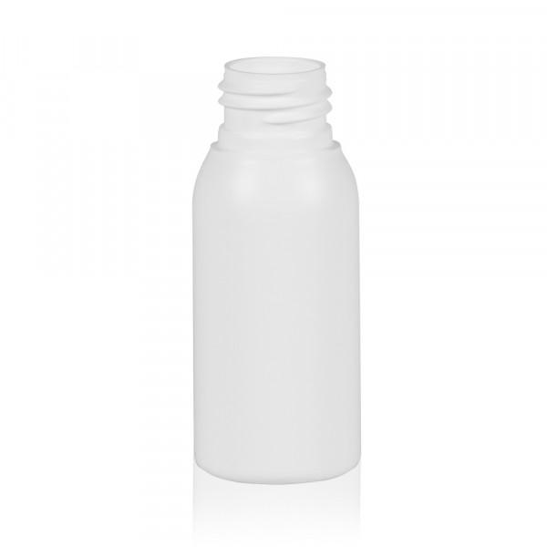 50 ml flacon Basic Round HDPE blanc 24.410