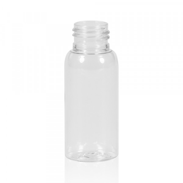 50 ml flacon Basic Round PET transparent 24.410