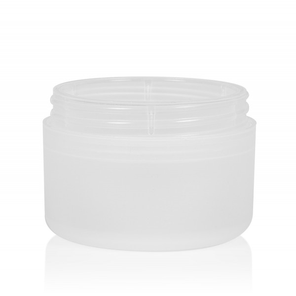 50 ml Frosted soft PP naturel double ou