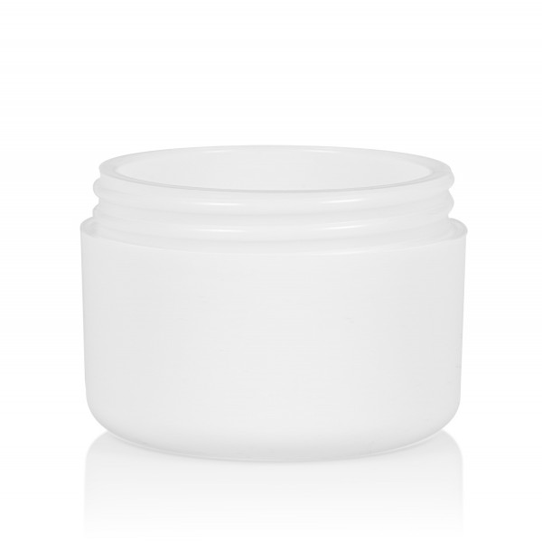 50 ml Frosted soft PP blanc double ou