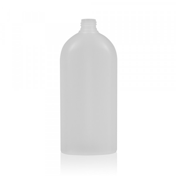 500 ml flacon Basic Oval HDPE naturel 24.410