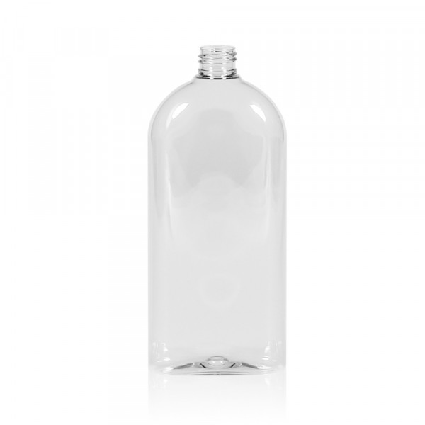 500 ml flacon Basic Oval PET transparent 24.410