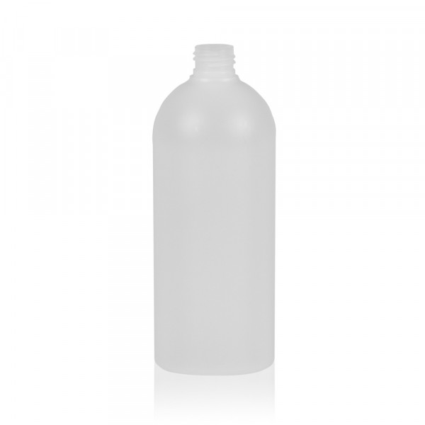500 ml flacon Basic Round HDPE naturel 24.410