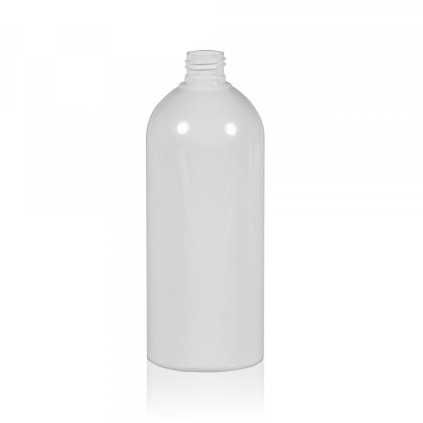 500 ml flacon Basic Round PET blanc 24.410