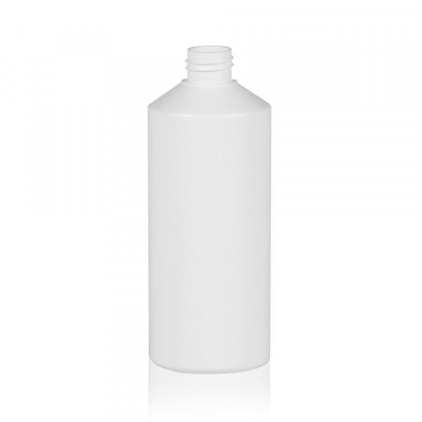 500 ml flacon Combi HDPE blanc 28.410