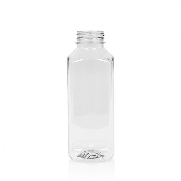 500 ml flacon de jus Juice Square PET transparent