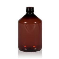 500 ml flacon Pharma PET marron 28.410