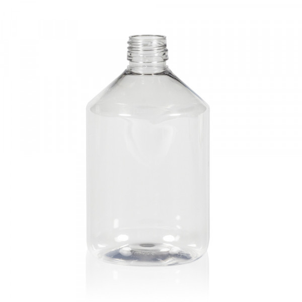 500 ml flacon Pharma PET transparent 28.410