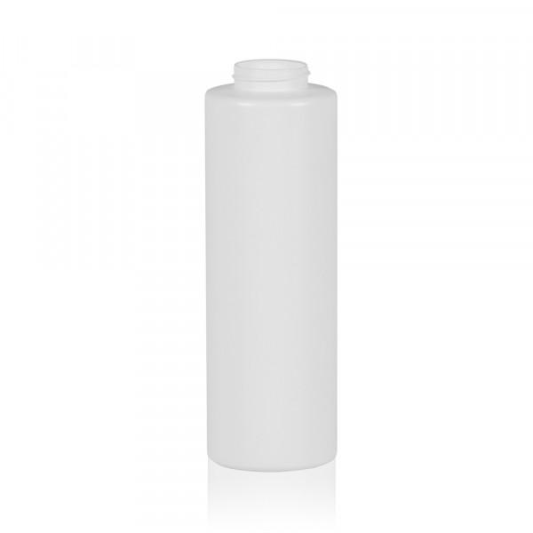 500 ml Flacon compressible Sauce round MIX LDPE-HDPE blanc 38.400
