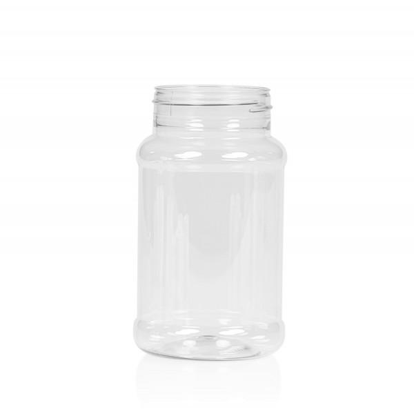 500 ml Spice round PET transparent