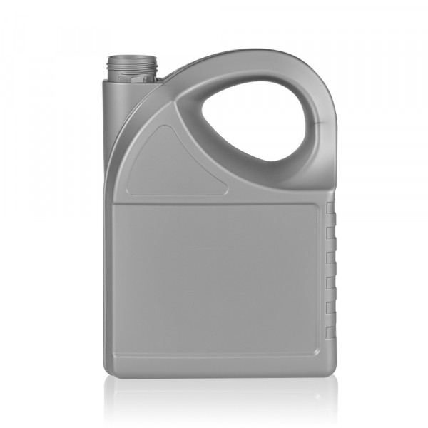 5000 ml flacon Oil HDPE argent