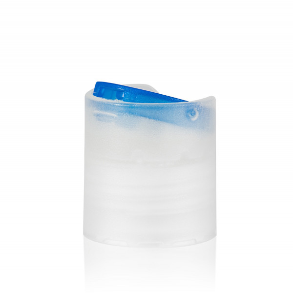 Disc-top PP naturel/bleu 24.410
