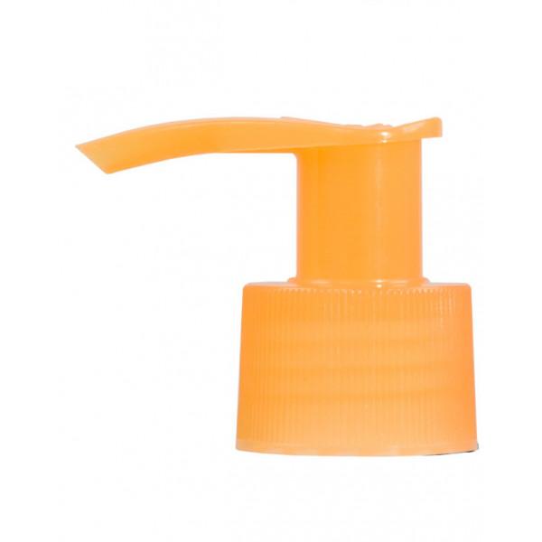 Pompe dispenser PP orange 24.410