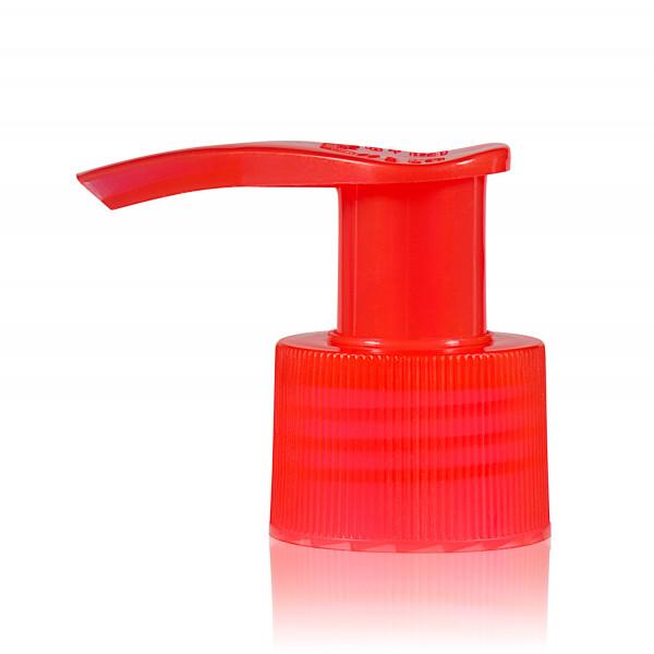 Pompe dispenser PP rouge 24.410