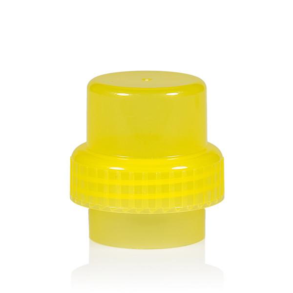 Bouchon doseur PP jaune 567