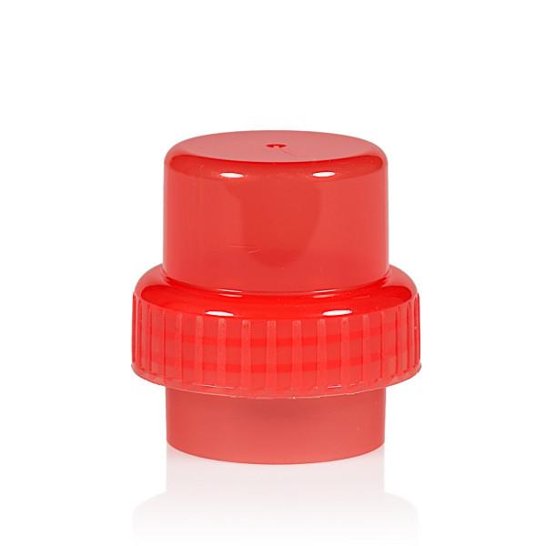 Bouchon doseur PP rouge 567
