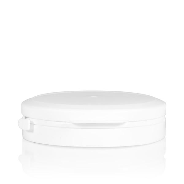 Couvercle garantie Pharma cylinder 95 mm blanc