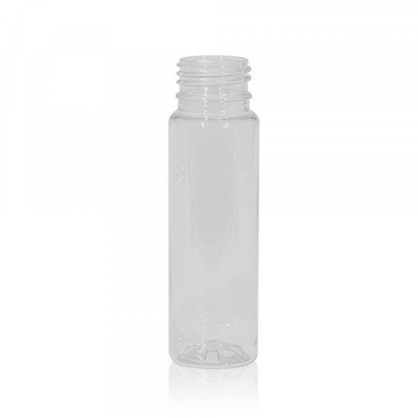 75 ml flacon de jus Juice mini shot PET transparent 28PCO