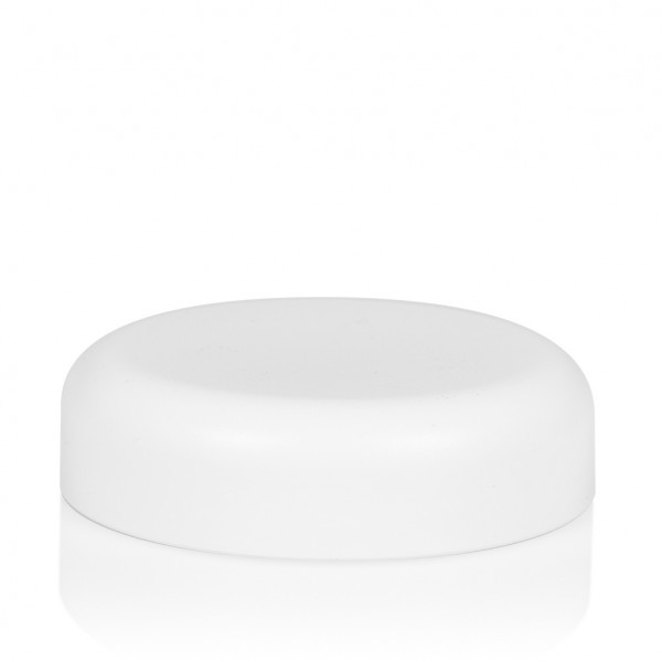 Couvercle a visser Frosted soft 100 ml PP blanc
