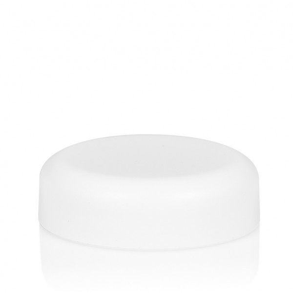 Couvercle a visser Frosted soft 30 ml PP blanc
