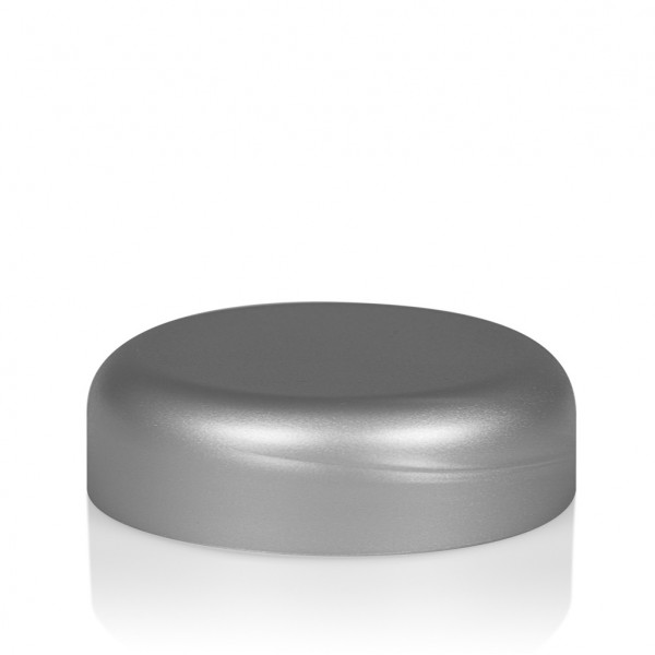 Couvercle a visser Frosted soft 30 ml PP argent