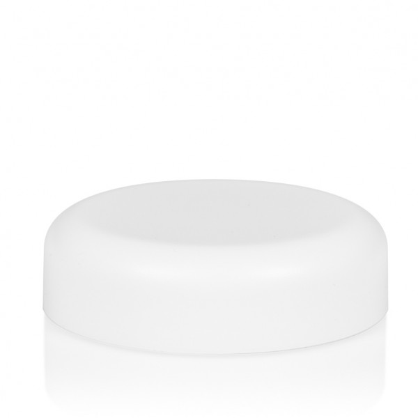 Couvercle a visser Frosted soft 50 ml PP blanc