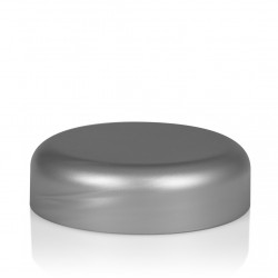 Couvercle a visser Frosted soft 50 ml PP argent