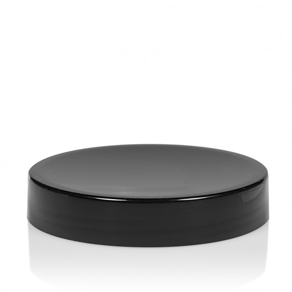 Couvercle a visser Glossy sharp 100 ml PP noir