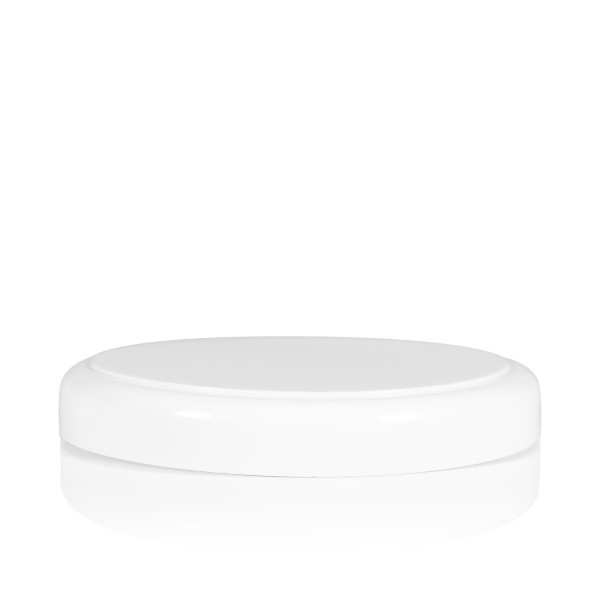 Couvercle a visser Soft cylinder 100 mm blanc