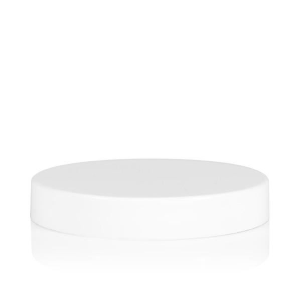 Couvercle a visser transparent cylinder 70 mm blanc