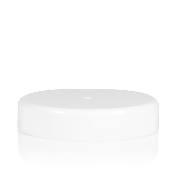 Couvercle a visser transparent cylinder 82 mm blanc