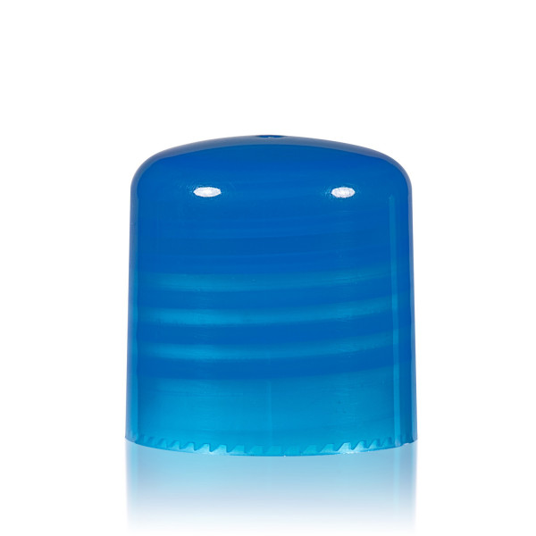 Bouchon a visser PP bleu 24.410