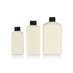 Flacons Standard Square de 100% plastique HDPE recyclé