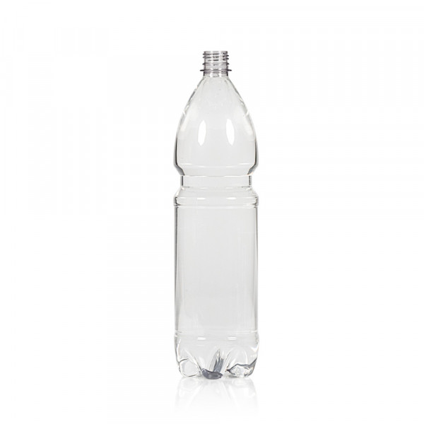 1500 ml flacon Water PET transparent 28PCO