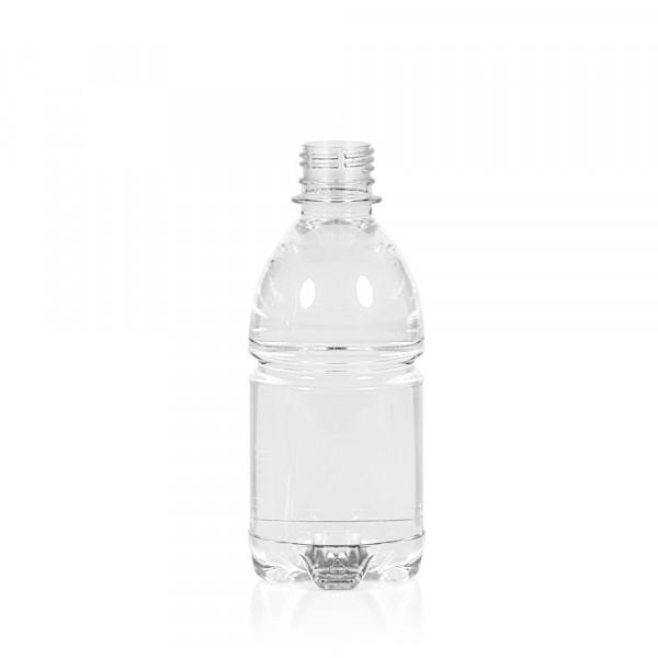 330 ml flacon Water PET transparent 28PCO
