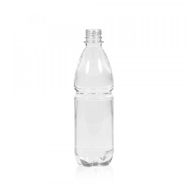 500 ml flacon Water PET transparent 28PCO