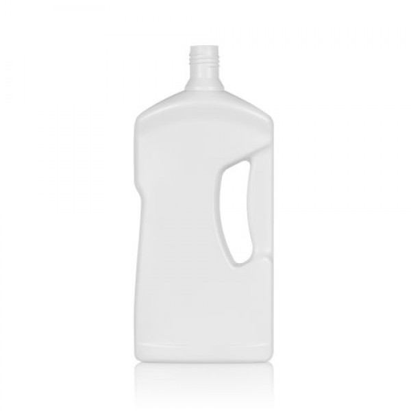1000 ml flacon Cleaner HDPE blanc DIN 28